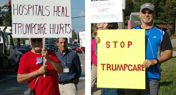 No to Trumpcare